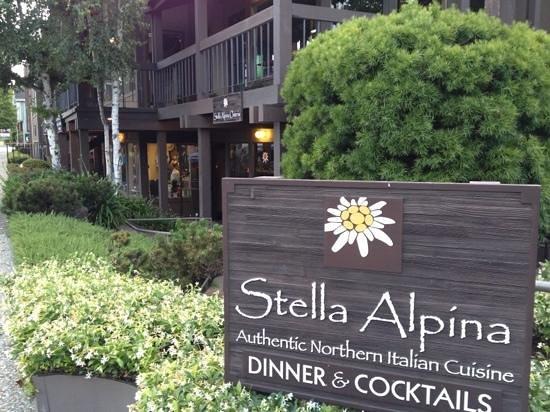 Stella Alpina Osteria, Burlingame - Menu, Prices