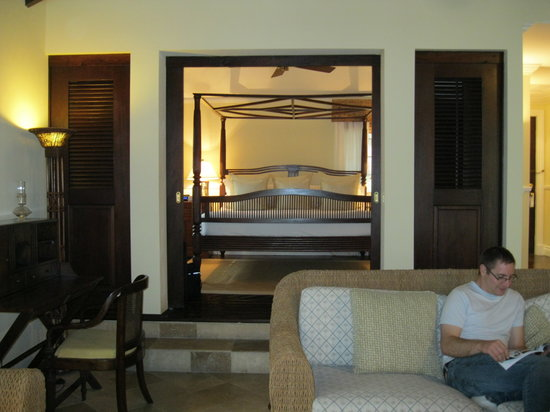 Point Grace: Another view of the bedroom-Upper Cottage Suite