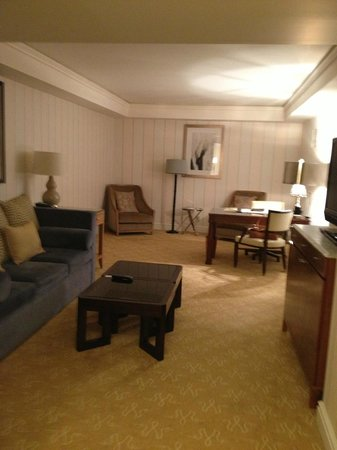 The Ritz-Carlton, St. Louis : Living area