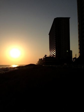 Wyndham Vacation Resorts Panama City Beach: Sunset from Beach