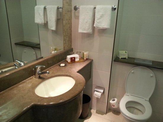 Leonardo Plaza Hotel Tiberias: Vista del baño