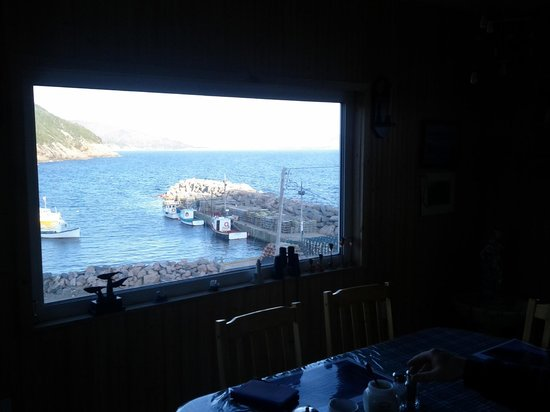 Two Tittle B&B: View from breakfast table