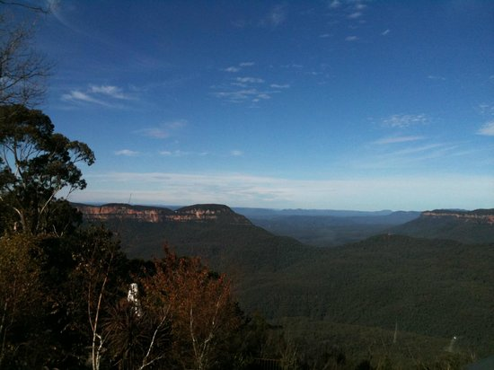 Echoes Restaurant - Blue Mountains: Table views of Jamison Valley