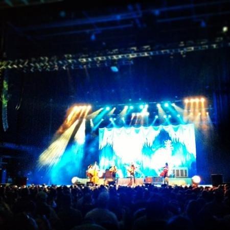 Verizon Wireless Amphitheatre at Encore Park: Avett Bros at VZW 5/17/13