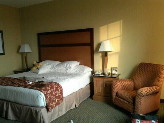 Drury Inn & Suites San Antonio Near La Cantera Parkway: bed