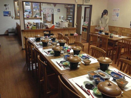 Minsyuku sekigahara: 食堂