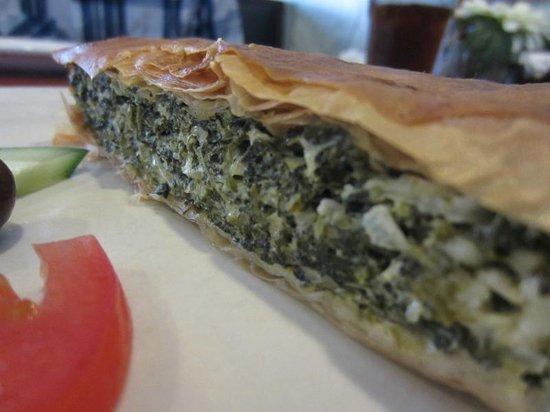 Julian's Mediterranean: Spinach Pie