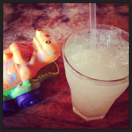 Lucky Otter: margarita and table marker