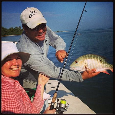 Caribbean Fly Fishing Company Day Tours: nice mutton!