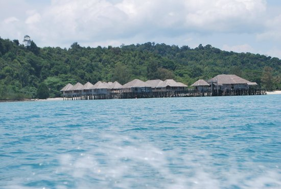 Telunas Beach Resort: The resort