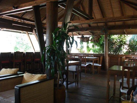 Rikitikitavi: Restaurant area
