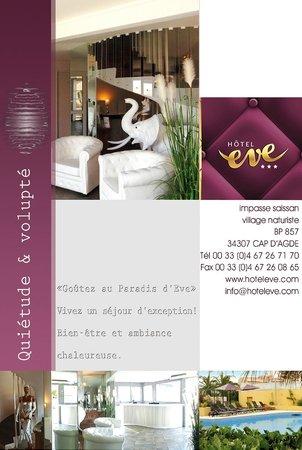 Hotel Eve : visuel réception