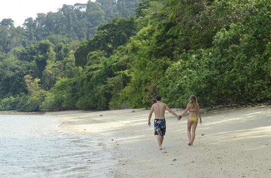 Damai Indah A Day in Paradise: A run on the secluded beach