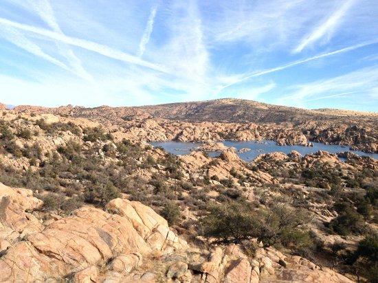 Point of Rocks Campground: Watson lake 2