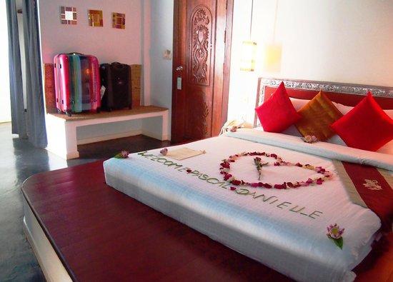 Suorkear Villa: Deluxe king bed