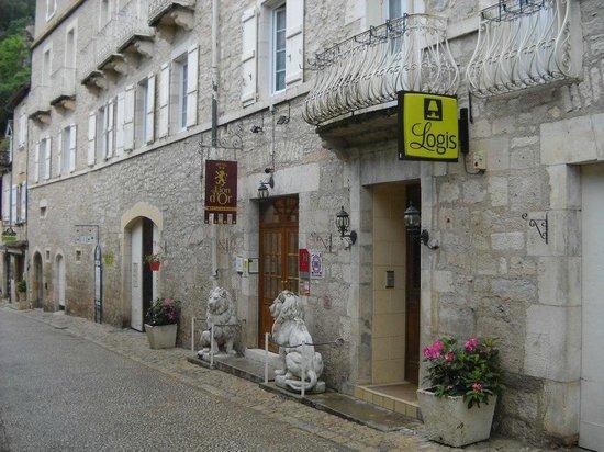 Hotel du Lion d'Or: Vue de l'entrée