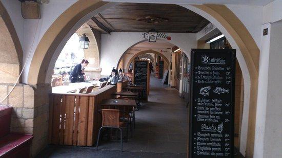 Murten, Schweiz: approaching entrance