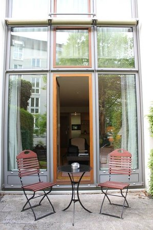 Hanse Clipper Haus: Sitzplatz