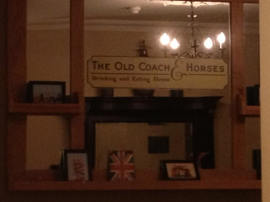 The Old Coach & Horses: Nice place