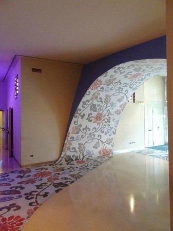 UNA Hotel Vittoria : hall d'entrée