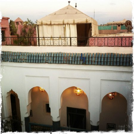 Dar Meryem : Dachterrasse