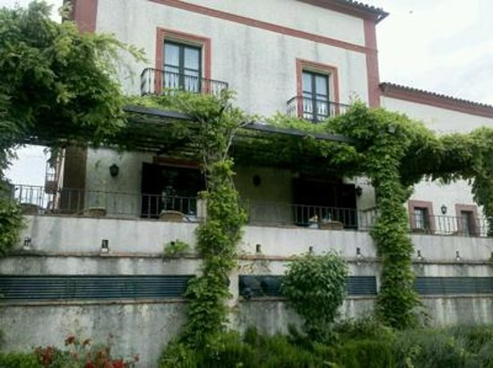 Hotel Posada de Valdezufre: Fachada del Hotel