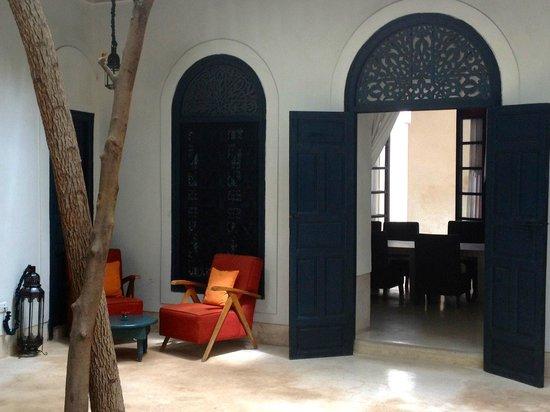 Hotel & Spa Riad Dar Sara: courtyard