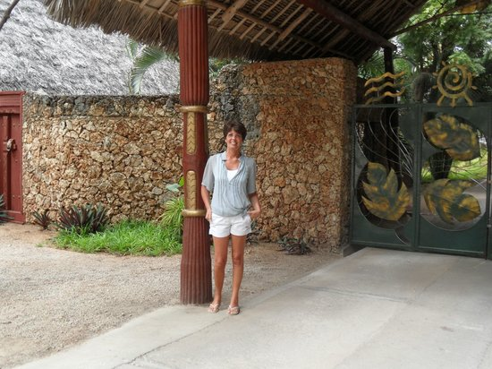Kilili Baharini Resort & Spa: Ingresso