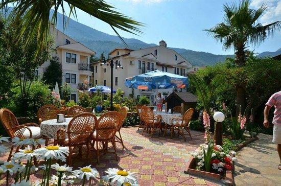 Milkyway Apart & Hotels: Garden