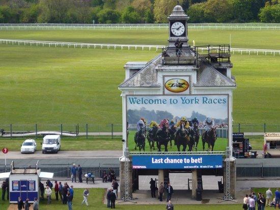 york racecourse a fantastic view