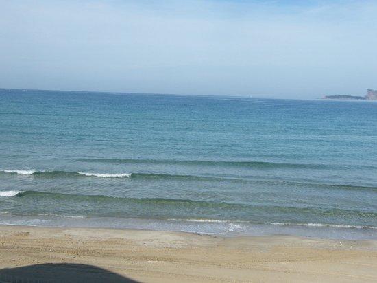 Au Tapis de Sable: mer calme eau cristalline magnifique