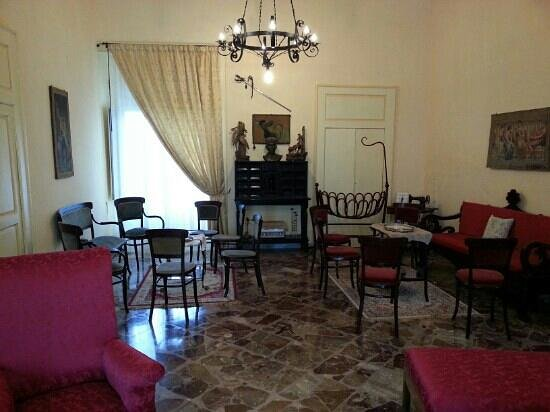 B&B Al Castello : salotto