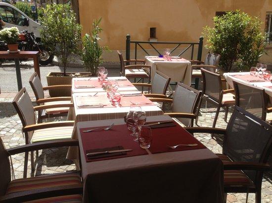 Restaurant fred : Terrasse exterieure