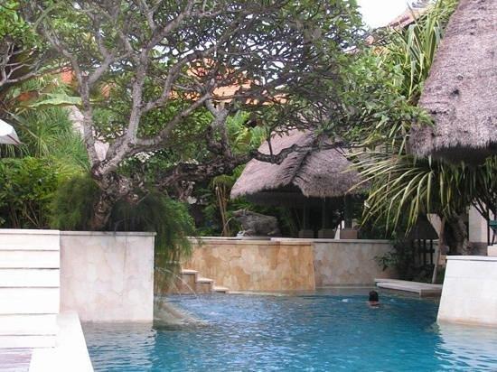 Puri Santrian: superbe piscine