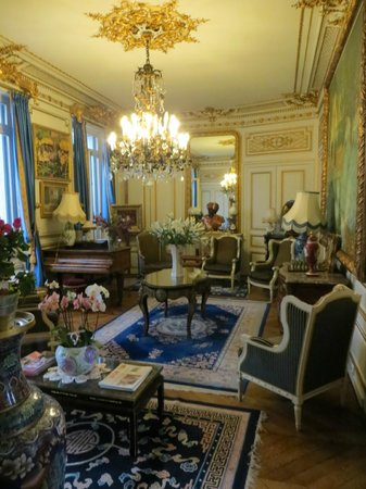 Hotel l'Ecrin: Sitting room