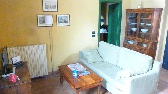 Le Serre Suites & Apartments: La zona giorno