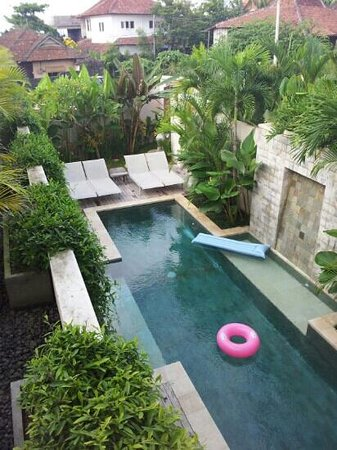 Pantai Indah Villas Bali: pool view from 2nd floor