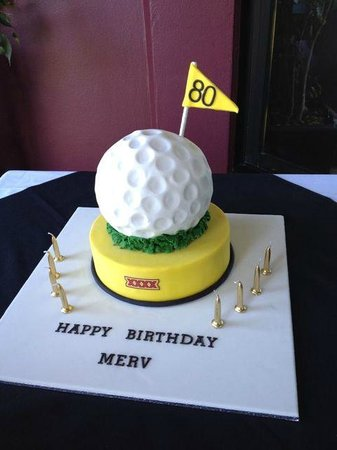 Portabella Restaurant: 80th Birthday Cake