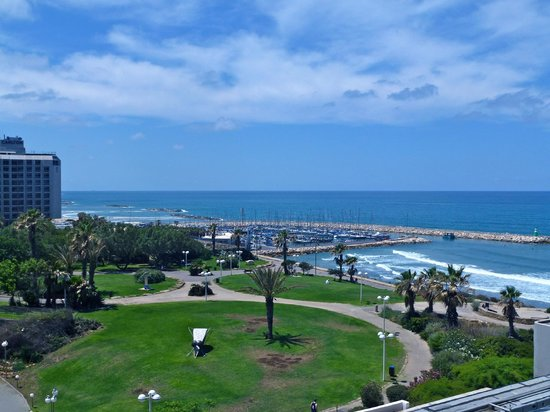 Hilton Tel Aviv: View from my room