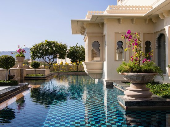Private pool of kohinoor suite picture of the oberoi udaivilas udaipur tripadvisor for Hotel in udaipur with swimming pool