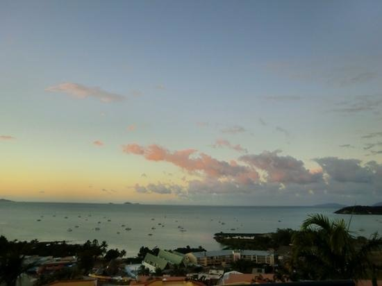 Mediterranean Resorts: sunset view from apartment 13