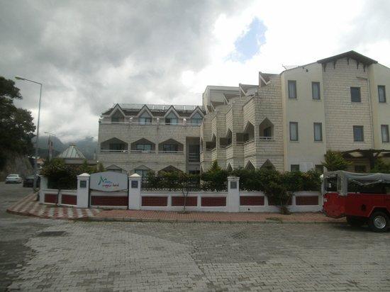 Himeros Life Hotel: Blick auf das Hotel