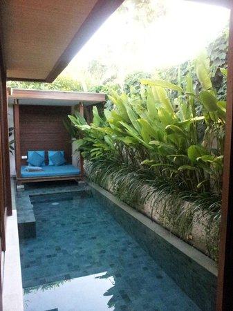 Maca Villas & Spa: Privatpool mit Sunbed