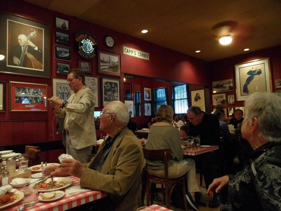 Capp's Corner : Some of the patrons enjoying their meals
