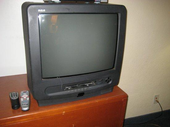 Surf Motel: TV im Zimmer