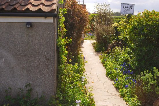 Havyatt Cottage B&B: Garden next to the car park