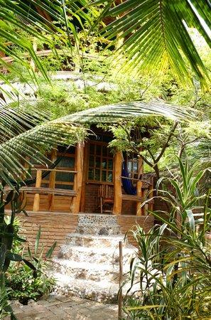 Balsa Surf Camp: notre chambre - la Tolita