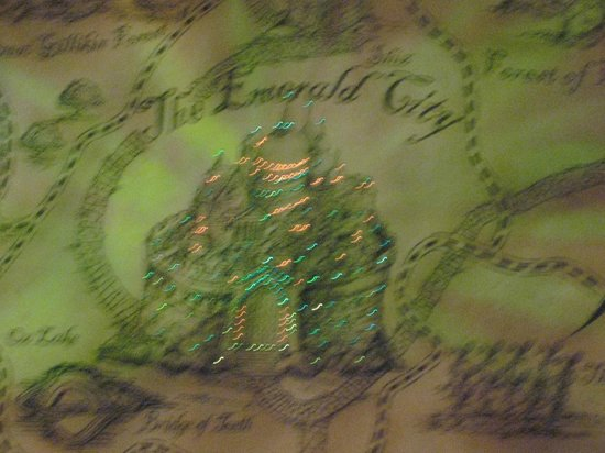 Wicked: Map of OZ