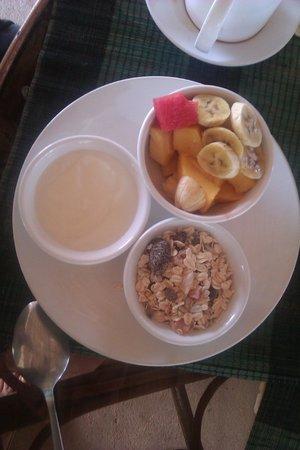 The Secret Garden at Otres Beach: Healthy breakfast