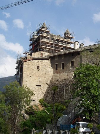 Hotel-Residence Chateau : castello di saint-pierre